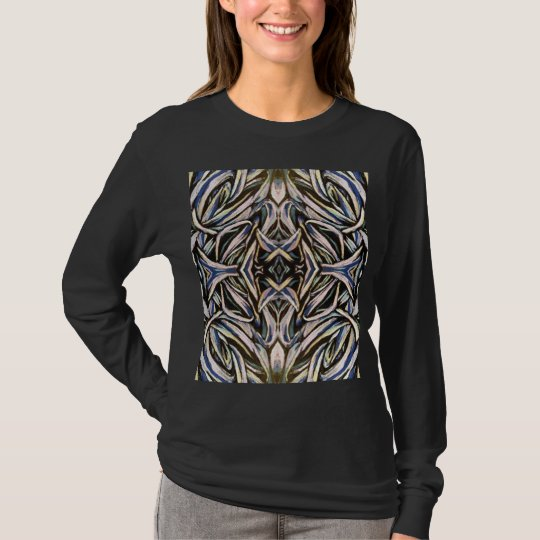 Tied in Knots Gothic Abstract Kaleidoscope T-Shirt