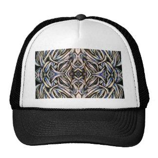 Tied in Knots Kaleidoscope Abstract Fractal Art Trucker Hat