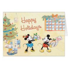 Tied Parcels Disney Greeting Card at Zazzle