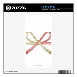 Tied Ribbon Decal For The iPhone 4S