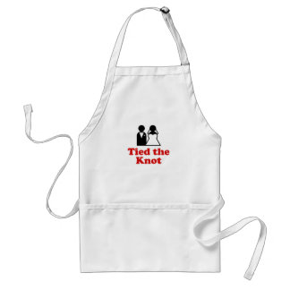 Tied the Knot Adult Apron