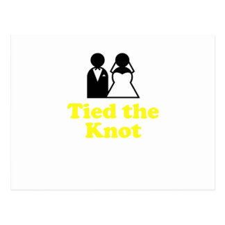 Tied the Knot Postcard