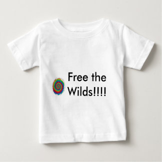 tiedye1, Free the Wilds!!!! Baby T-Shirt