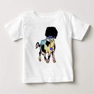 Tiedye Afro Cow Tee Shirt