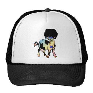 Tiedye Afro Cow Trucker Hat