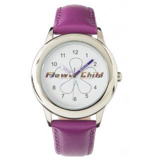 Tiedye Flower Child Watch