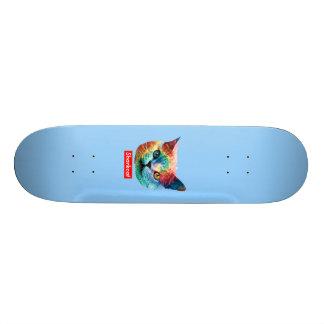 TieDye SHRKCT BLUE Skate Board Decks
