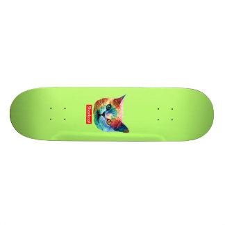 TieDye SHRKCT GREEN Skateboard Decks