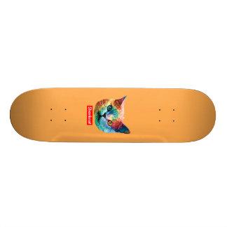 TieDye SHRKCT ORANGE Skate Decks