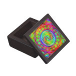 Tiedye Target Premium Jewelry Box