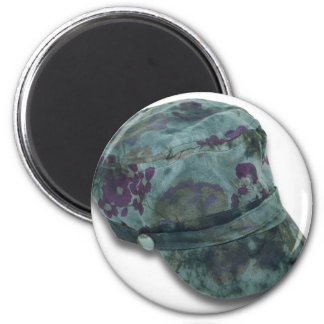 TieDyeCommandoHat122410 2 Inch Round Magnet