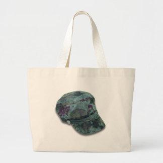 TieDyeCommandoHat122410 Jumbo Tote Bag