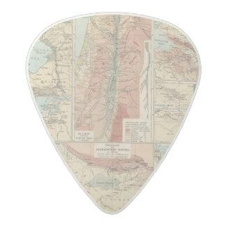 Tieflander Atlas Map Acetal Guitar Pick