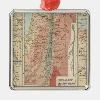 Tieflander Atlas Map Christmas Ornaments