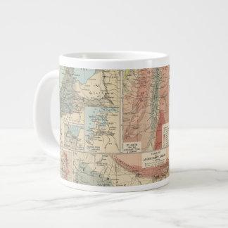 Tieflander Atlas Map Giant Coffee Mug