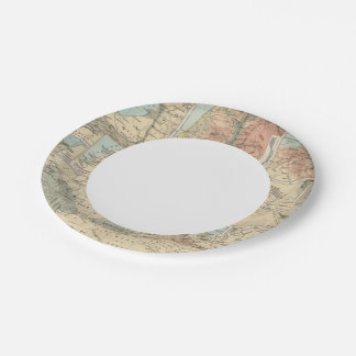 Tieflander Atlas Map Paper Plate