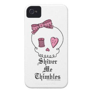 Tiembla los dedales (el rosa) iPhone 4 protector