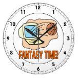 Tiempo 2 de la fantasía reloj de pared