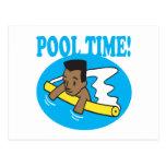 Tiempo 2 de la piscina postal