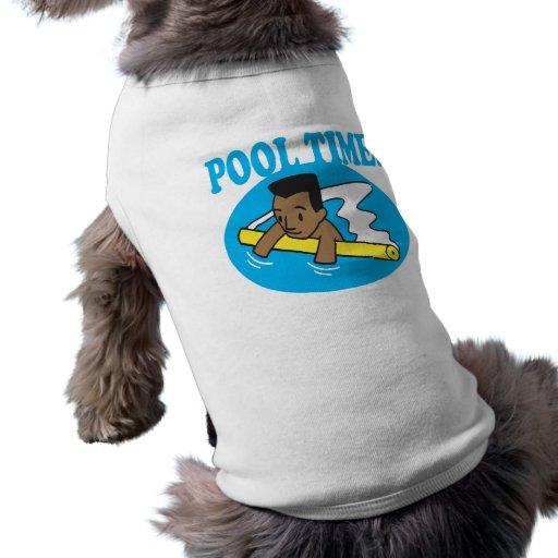 Tiempo 2 de la piscina ropa perro