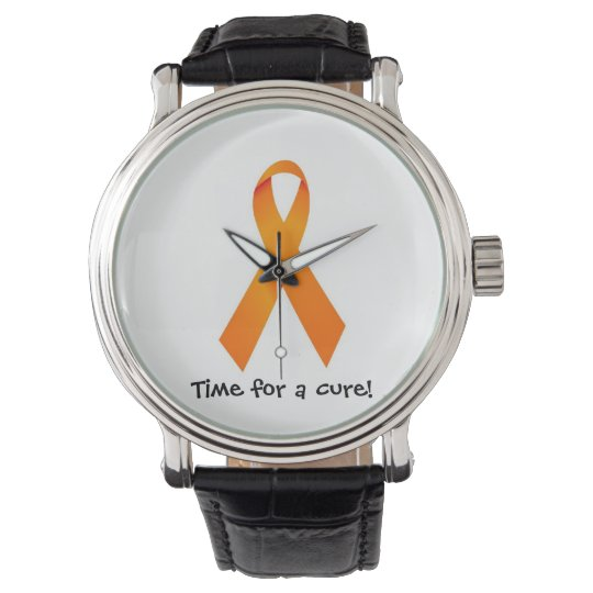 Tiempo anaranjado del reloj RSD CRPS de la cinta