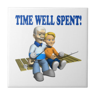 Tiempo bien empleado azulejo cerámica
