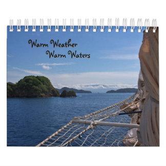 Tiempo caliente, calendario caliente 2011 de las