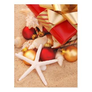 Tiempo caliente Christmastime Tarjetas Postales