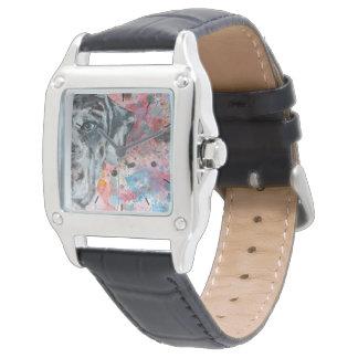 Tiempo con su great dane relojes de mano