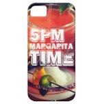 tiempo de 5pm Margarita iPhone 5 Case-Mate Coberturas