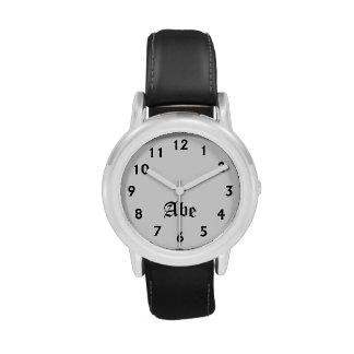 Tiempo de Abe Relojes De Pulsera