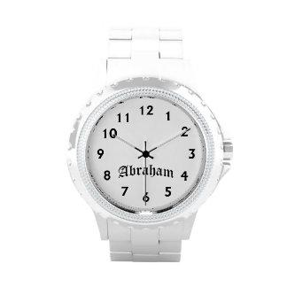Tiempo de Abraham Reloj