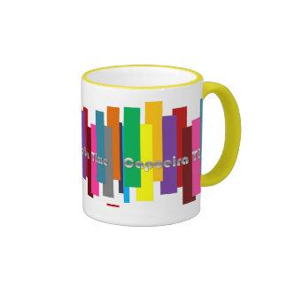 tiempo de Capoeira del café de la taza