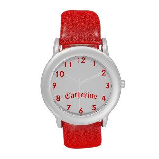 Tiempo de Catherine Relojes De Pulsera
