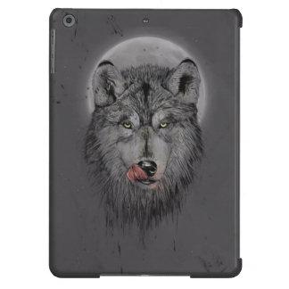 Tiempo de cena (versión oscura) funda para iPad air