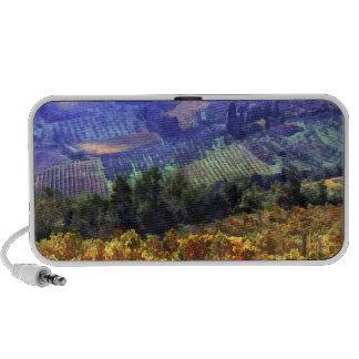 Tiempo de cosecha en el viñedo portátil altavoz