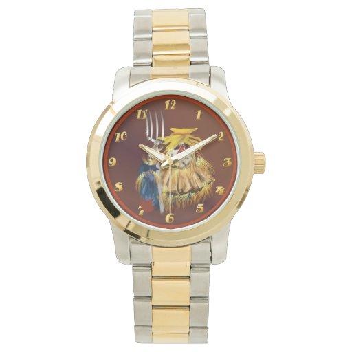 Tiempo de cosecha relojes de pulsera