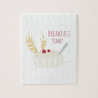 ¡Tiempo de desayuno! Rompecabezas Con Fotos