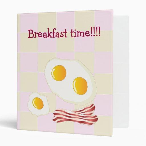 ¡Tiempo de desayuno! - Recipies de la familia