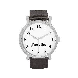 Tiempo de Dorothy Relojes