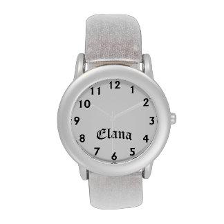 Tiempo de Elana Reloj De Mano
