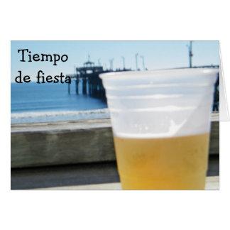 TIEMPO de FIESTA - TIME TO PARTY BIRTHDAY Card