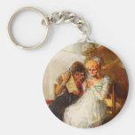 Tiempo de Francisco Goya- de las mujeres mayores Llavero Personalizado