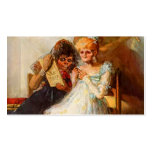 Tiempo de Francisco Goya- de las mujeres mayores Tarjetas De Visita