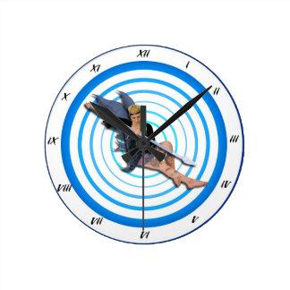 Tiempo de hadas relojes de pared