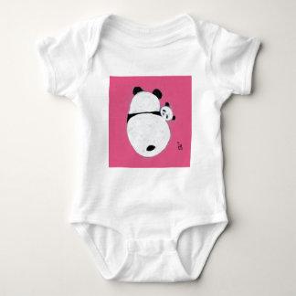 Tiempo de la abrazo - rosa mameluco de bebé
