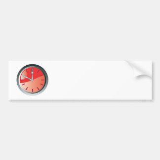 tiempo de la consumición de la cuchara y de la bif etiqueta de parachoque
