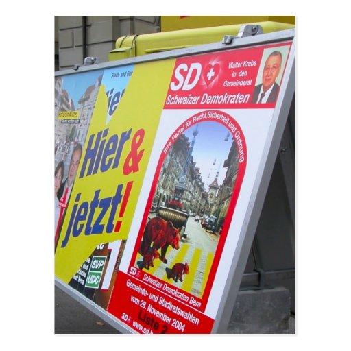 Tiempo de la elección en Berna, Suiza 14 Tarjetas Postales