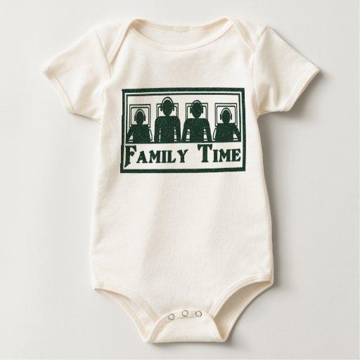 Tiempo de la familia body para bebé