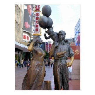 Tiempo de la familia - camino de Nanjing - Tarjetas Postales